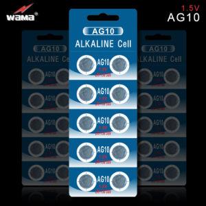OEM AG9/Lr45/194/936 1.5V Alkaline Button Cell Batteries pictures & photos