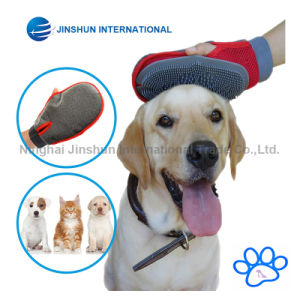 Premium Quality 2-1 Pet Grooming Rubber Glove Tool for Cats & Dogs – Pet Hair Remover Mitt with Velcro Strap – One Size Fits All pictures & photos