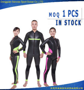Neoprene Smoothskin Front Zip Long Sleeve Wetsuit for Couples