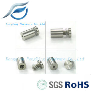 Precision Machined Threaded Advertisement Screw, Glass Standoffs pictures & photos