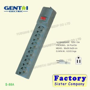 Universal Extension Socket Power Strip with USB Outlet pictures & photos