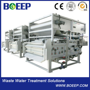 Low Consumption Ss304 Belt Sludge Filter Press Water Treatment Plant for Sale pictures & photos