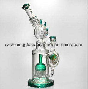 Cresta Small Portable Glass Water Pipes with Swiss Percolator pictures & photos
