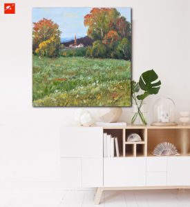 Beautiful Countryside Wall Art Landscape Canvas Print pictures & photos