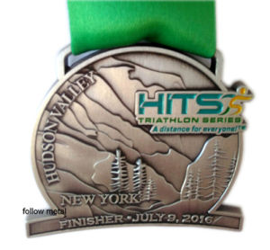 Sport Medal for Triathlon Series New York Finisher