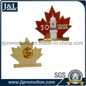 Die Struck Iron Soft Enamel Lapel Pin in Shiny Gold Plating pictures & photos