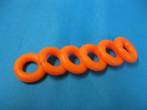 Wholesale Custom Molded Medical Grade Silicone Tourniquet Sealing Rings pictures & photos