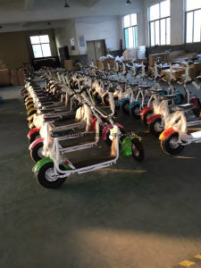 New 2016 Junior City Coco Electric Scooter with Fat Tire Electric Scooter pictures & photos