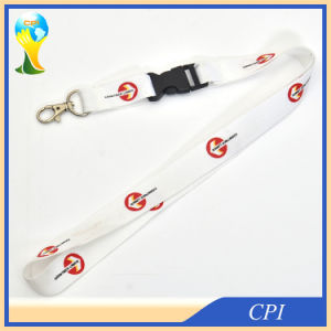 White Neck Lanyard with Breakaway Harness pictures & photos