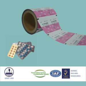 ISO Certificated Laminated Film for Pharmaceutical Packaging