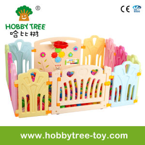 2017 Ce Standard Baby Plastic Game Fence on Sale (HBS17068A)