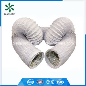 PVC Coated Aluminum Flexible Duct for HVAC Ventilation pictures & photos