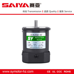 Sy AC Motor Without Gearbox, 4ik25gn-C, 25W, 220V, Induction Motor pictures & photos