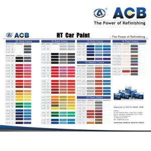 Car Paint Color Chart pictures & photos