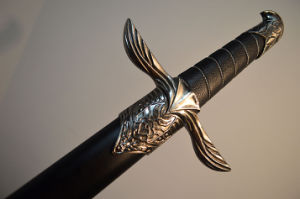 Replica of Altair Ibn-La′ahad Sword/Assassin′s Creed Cosplay Sword pictures & photos