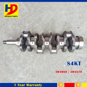 Hot Diesel Engine Parts S4kt Crankshaft (4W3989 4W3579) pictures & photos