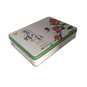 Christmas Cookie Tin Container Tin Box for Food Packaging pictures & photos