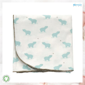 Animal Printing Baby Clothes High Quality Newborn Blanket pictures & photos