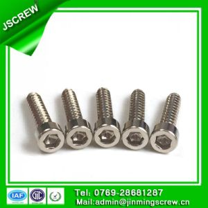 8mm Socket Cap Head Stainless Steel Self Tapping Screw for Bicycle pictures & photos