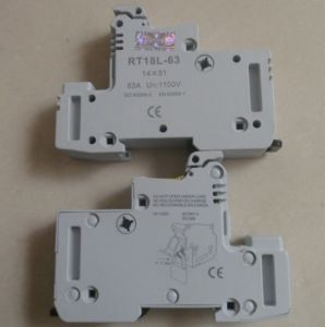 CE Certified Rt18L Fuse Base pictures & photos
