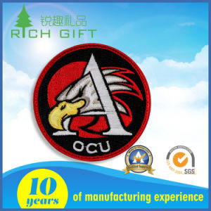 Supply Custom Unique Embroidery Brand Name Logo Patch for Company pictures & photos