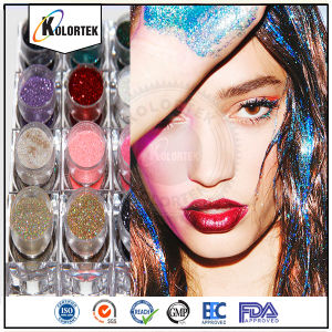 Wholesale Bulk Glitter Powder Solvent Resistant Cosmetic Glitter pictures & photos