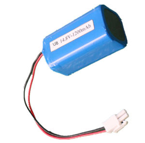 Miner Lamp Battery Rechargeable 18650 Lithium Ion Battery 7.4V pictures & photos