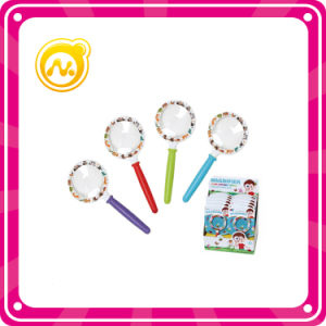 6 Cm Circular Magnifying Glass Toy Cheap Plastic Toy