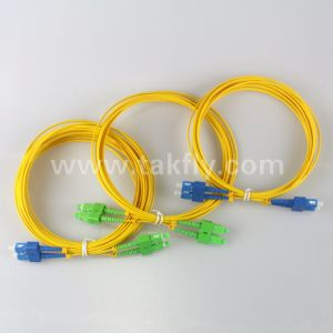 High Quality Sm Sc/APC-Sc/APC Fiber Patch Cords pictures & photos