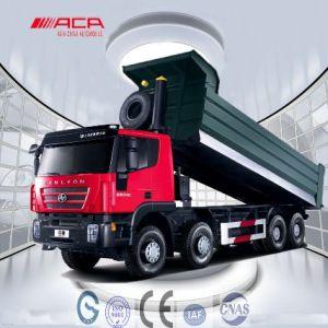 6X4 340HP Saic Iveco Hongyan Genlyon Dump Truck (CQ3254HTG364) pictures & photos