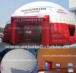 Trade Show Red Inflatable Dome Tent pictures & photos