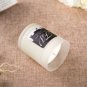 Multi-Colored Scented Customized Glass Jar with Palm Wax pictures & photos