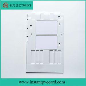 White PVC Card Tray for Epson R390 Printer pictures & photos