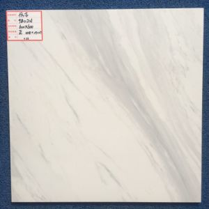 Building Material 60X60 Foshan Natural White Marble Look Rustic Porcelain Stone Tiles pictures & photos