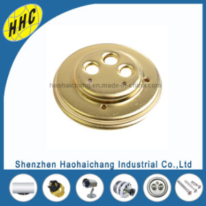 OEM Precision Metal Stamping Electric Heating Brass Flange