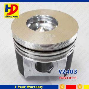 Diesel Engine Spare Parts V2403 Piston with Pin OEM (1G924-2111, 1G796-2111) pictures & photos