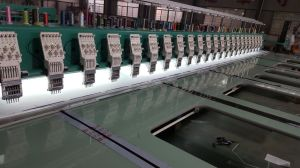 Hye-FL 632/250*550*1200 Flat Embroidery Machine pictures & photos