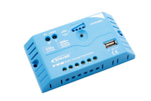 Epever 10A 20A 30A with USB 12V/24V Aotu of Solar Power Controller Ls1024EU pictures & photos