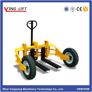 China Factory Manual Hydraulic Pallet Truck pictures & photos