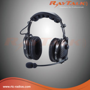 Noise Cancelling Carbon Fiber Headset for Two Way Radios pictures & photos