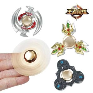 Fashion King of Glory a Aluminum Fidget Spinners Hand Bearing Spinners Toys pictures & photos