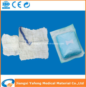 Cotton Gauze Washed 5PCS Sterile Packed Abdominal Sponge pictures & photos