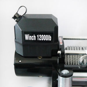 SUV 12V DC off-Road Electric Winch 4X4 Winch (12000lb-2) pictures & photos
