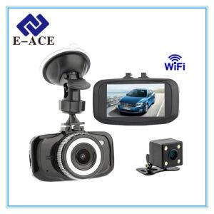 Full HD 1080P Auto Dashcam Dual Camera Lens Mini WiFi Car DVR pictures & photos