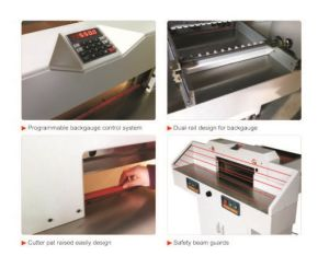 Electric Paper Guillotine (550mm) pictures & photos
