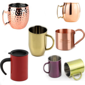 2015 Hot Selling Single Moscow Mule Copper Beer Mug pictures & photos
