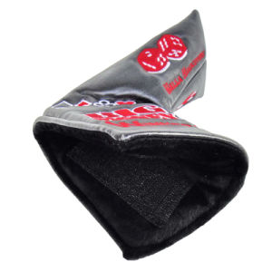 Embroidery PU Golf Putter Cover with Hook & Loop Closure pictures & photos