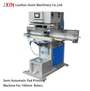 High Quality Semit-Automatic Ruler Pad Printer pictures & photos