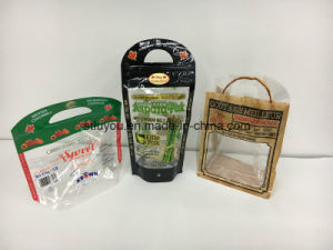 Customized Printing Plastic Fruit Packaging Perforated Bag pictures & photos