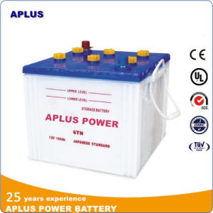 12V100ah Lead-Acid Dry Battery 6tn in JIS Standard for Tank pictures & photos
